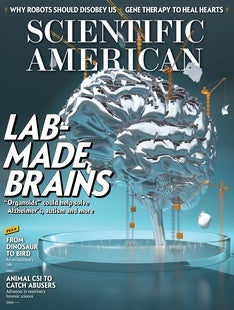 Scientific American Volume 316, Issue 1