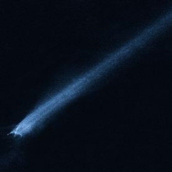 Tell-Trail: Astronomers Discover Debris Tailing a Newly Disrupted Asteroid [Video]