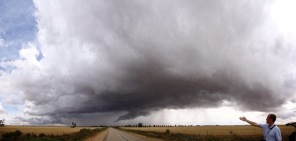 Tornado Forecaster Moonlights as Great Plains Storm Chaser [Slide Show]