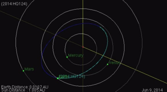 """""""Beast"""" Asteroid to Fly by Earth on Sunday"""