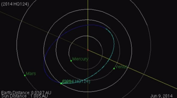 """Beast"" Asteroid to Fly by Earth on Sunday"