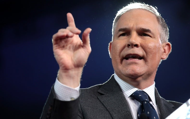EPA Chief Pruitt Refuses to Link CO2 and Global Warming
