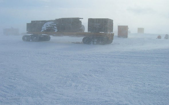 Vanishing Antarctic Snowflakes May Alter Sea Level Rise
