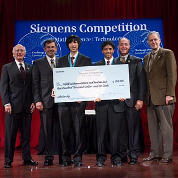 High Stakes High School Science: Competitions Net Six-Figure Prizes
