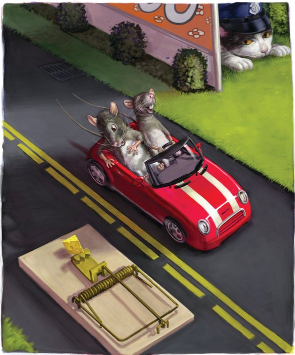Teaching Rats to Drive: A New Model for Learning