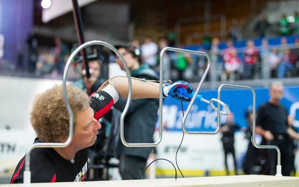 "World's First ""Cybathlon"" Pits High-Tech Prosthetics against One Another"