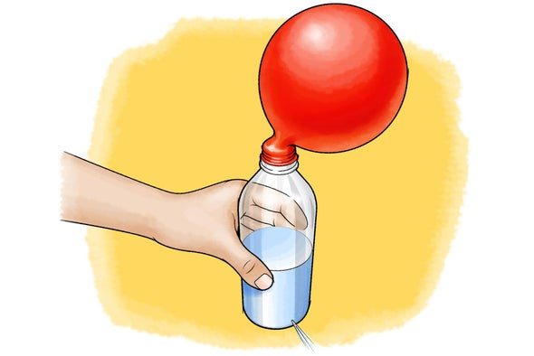 Plug a Leaky Bottle with the Power of Air!