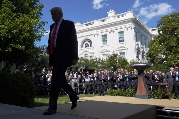 U.S. Exits Paris Climate Accord after Trump Stalls Global Warming Action for Four Years