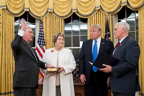 Future of Paris Accord Uncertain as Tillerson Becomes Secretary of State