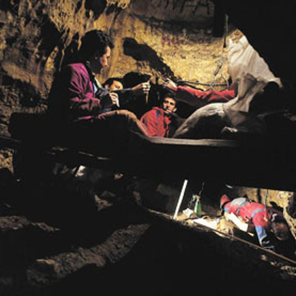 Earliest Human DNA Shows Unforeseen Mixing with Mystery Population