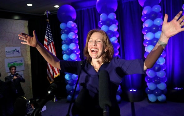 Scientist–Politicians Rack Up Wins on Election Day