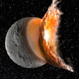 Violent Asteroid Impacts Shaped Protoplanet Vesta's Odd Interior