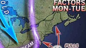 How Hurricane Sandy Could Bring the First Snow of the Year