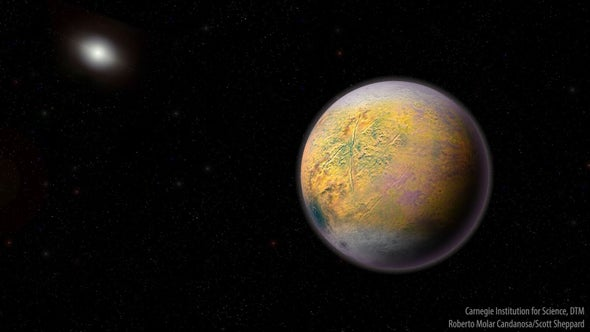 "Newfound World, ""The Goblin,"" May Lead to Mysterious Planet Nine"