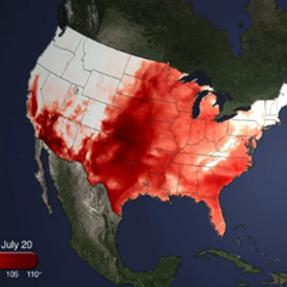 """Record-Setting Heat Wave in U.S. Settles in as """"Silent Killer"""""""