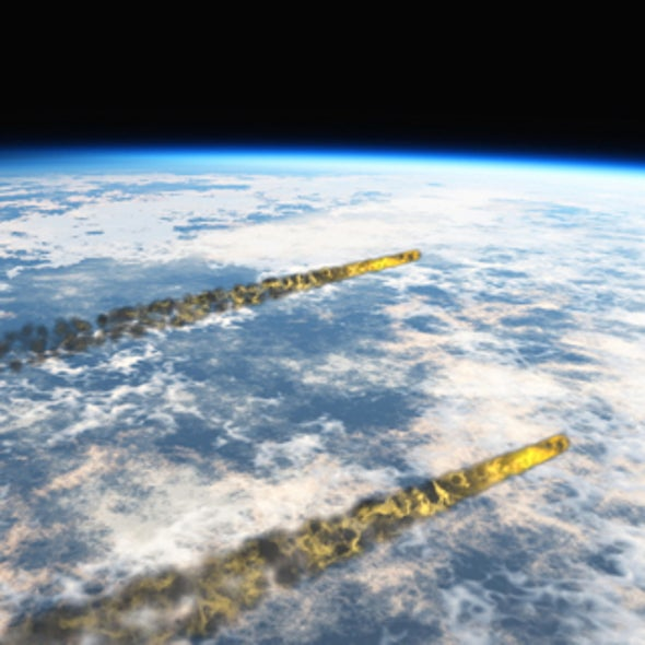 Rock and Roil: Meteorites Hitting Early Earth's Oceans May Have Helped Spawn Life