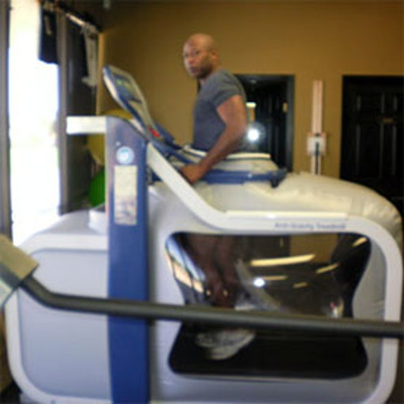 Step Lightly: A Space-Age Treadmill That Reproduces Microgravity on Earth [Slide Show]