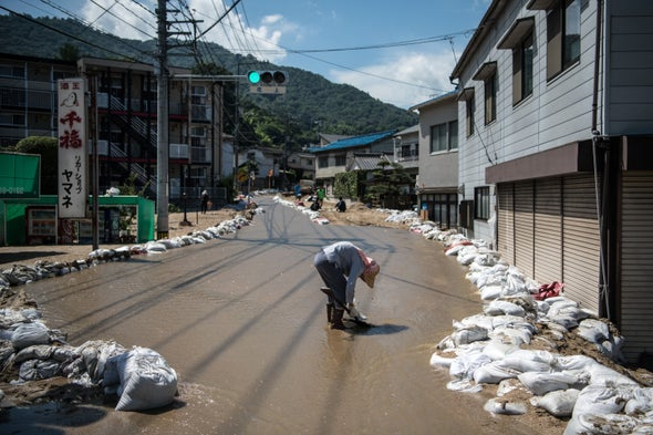 Searing Summer Heat Follows Killer Floods in Japan