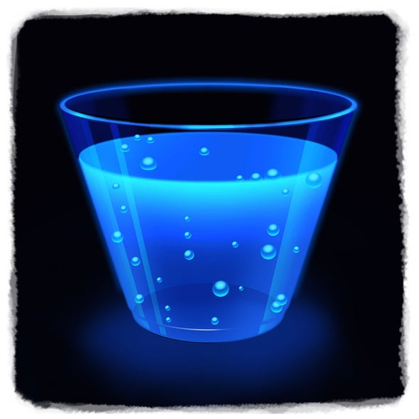 Shining Science: Explore Glow-in-the-Dark Water!