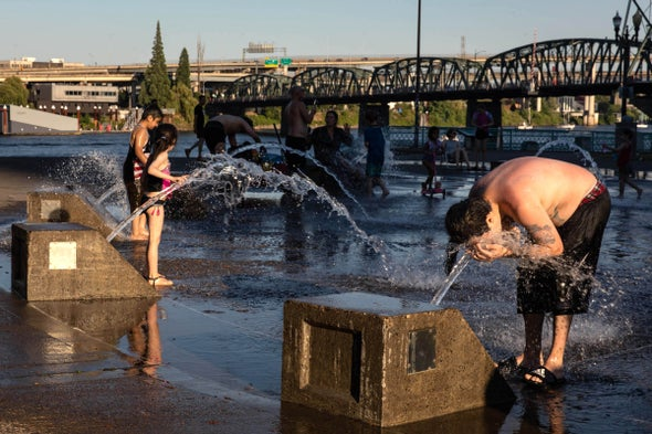 Western Heat Wave 'Virtually Impossible' without Climate Change