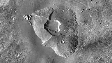 Scientists Find Some of Mars's Youngest Volcanoes--and Discover They Could Have Supported Life