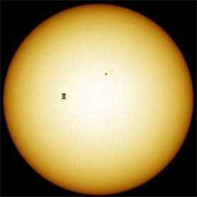 Atlantis, space shuttle, sun, astronomy,Rietsch
