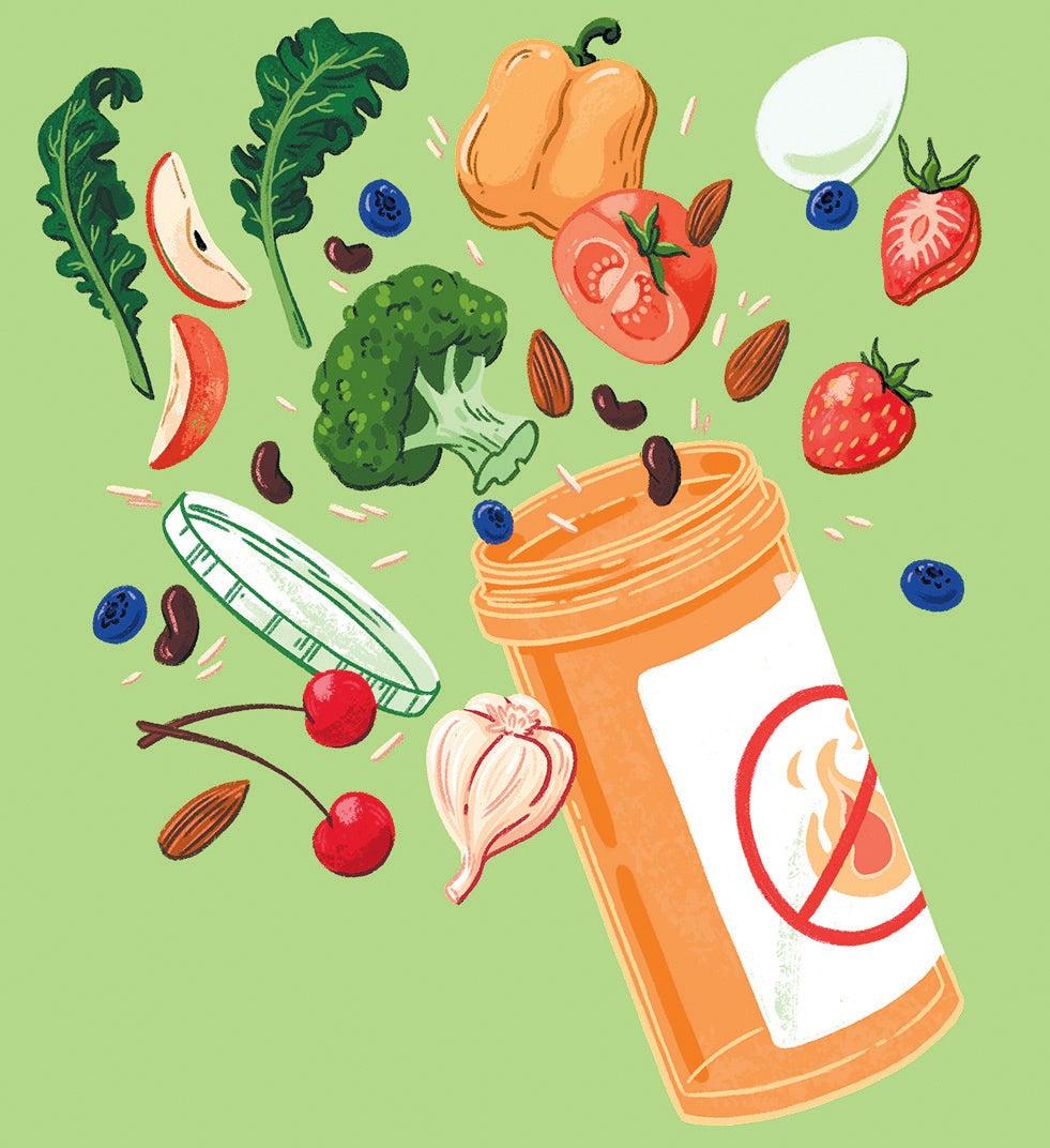 anti inflammatory diet scientific studies skeptic