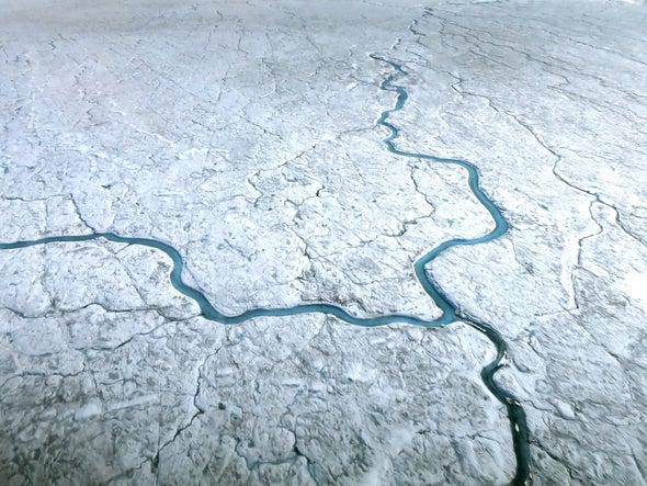 Algae Growth Speeds Up Greenland's Melting