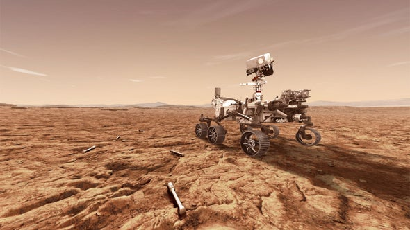 Mars Needs Money: White House Budget Could Prompt Retreat from Red Planet