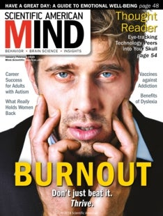 Scientific American Mind Volume 26, Issue 1