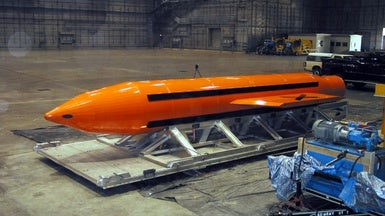 "What Is the ""Mother of All Bombs"" That the U.S. Just Dropped on Afghanistan?"