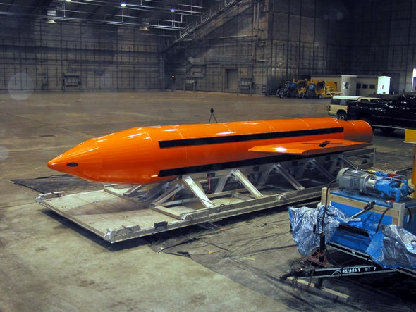 """What Is the """"Mother of All Bombs"""" That the U.S. Just Dropped on Afghanistan?"""