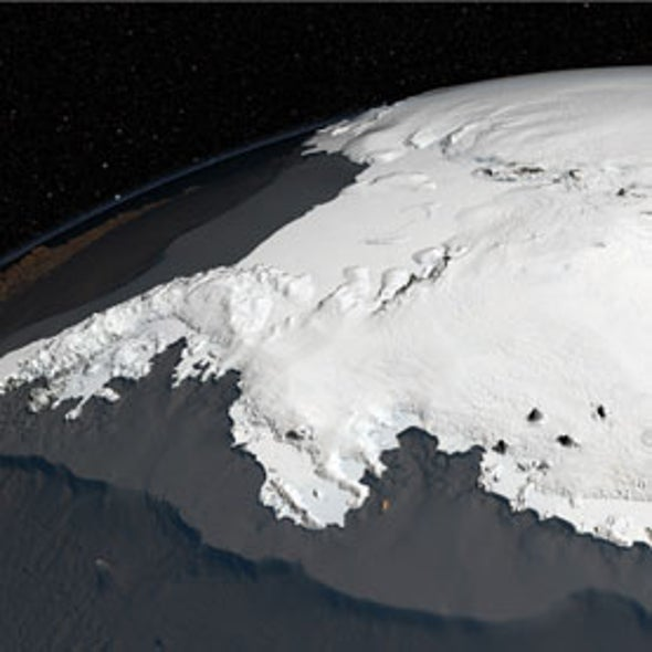 Oceans Melt Antarctica's Ice from Below