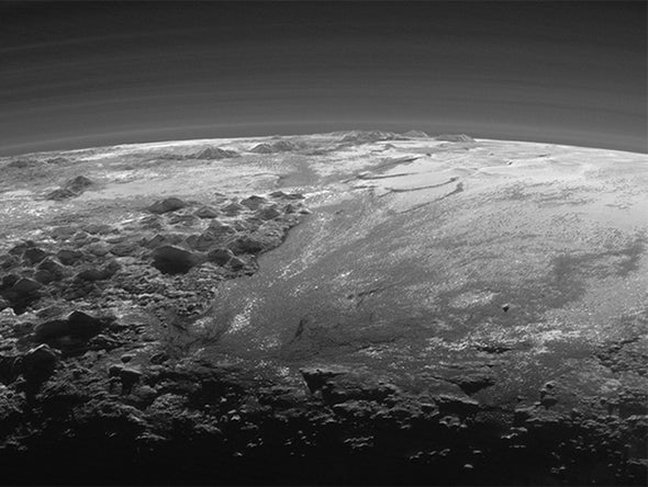 Sunset on Pluto [Slide Show]