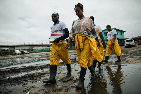 A Day in the Life of an Ebola Worker