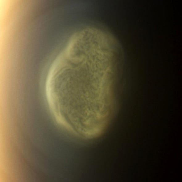 Cyanide Cloud Puts a Chill in Titan's Air