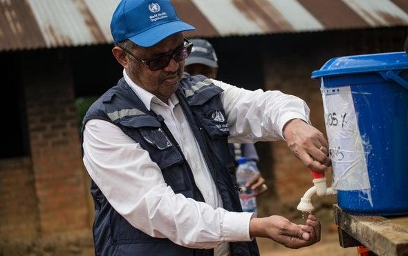 WHO Chief Warns Congo Violence Is Allowing Ebola to Spread