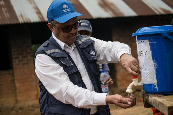 WHO Chief Warns Congo Violence Is Allowing Ebola to Spread
