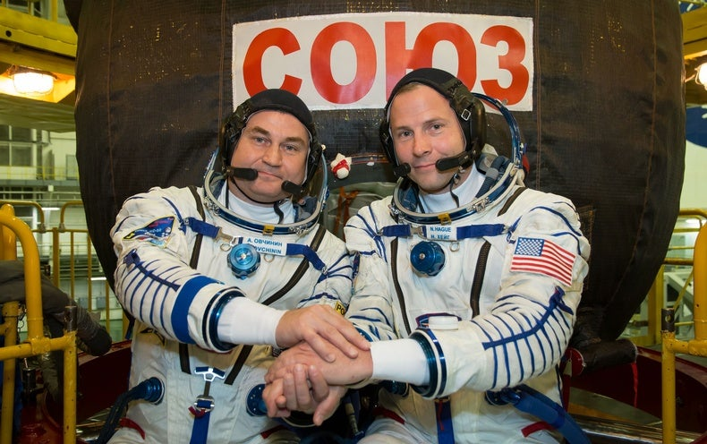 Soyuz Rocket Fails, Forces Emergency Landing for US-Russian Space Station Crew -...