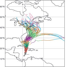 how math helped forecast hurricane scientific american