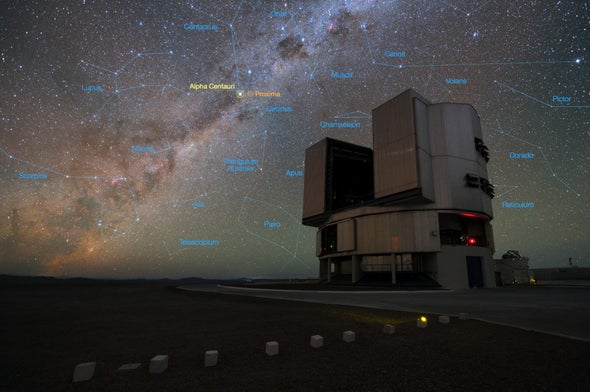 Is It a Planet? Astronomers Spy Promising Potential World around Alpha Centauri