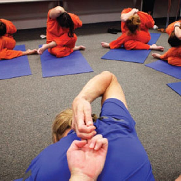 Yoga Lowers Inmates' Aggression and Anxiety