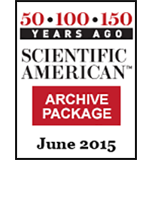 50, 100, 150 Years Ago (June 2015)
