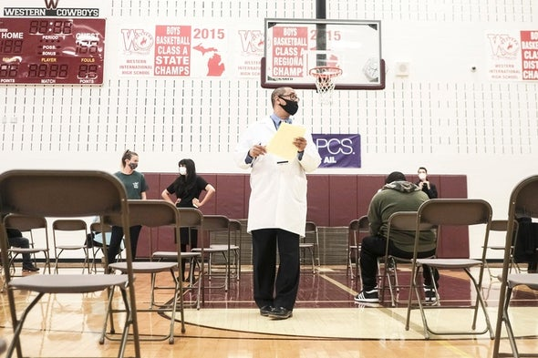 What's Causing Michigan's COVID Surge, and Who's Getting Sick?