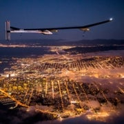 On a Wing and a Sunbeam: Solar Plane Pilots Look to Circle the Globe