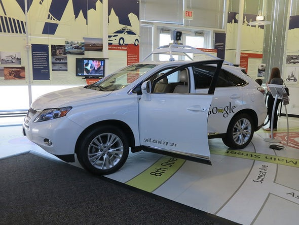 Self-Driving Cars Could Cut Greenhouse Gas Pollution