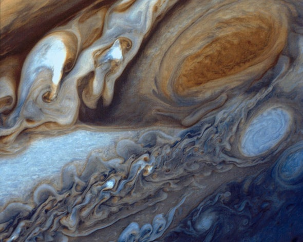 A Flash on Jupiter, the Death of Mitochondria and the World under Your Skin: The Week's Best Science GIFs