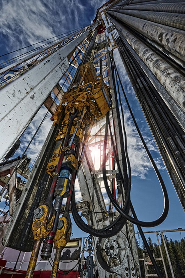 Shallow Fracking Wells May Threaten Aquifers