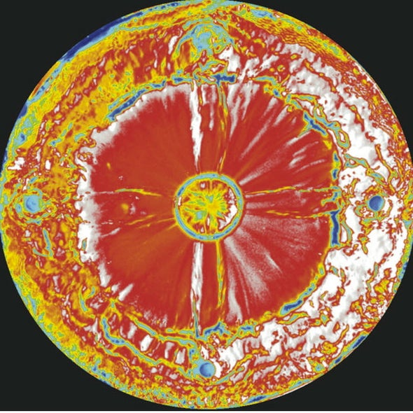 """Flowery Flow: A Fluid Dynamics """"Poppy"""" Captures Prize"""
