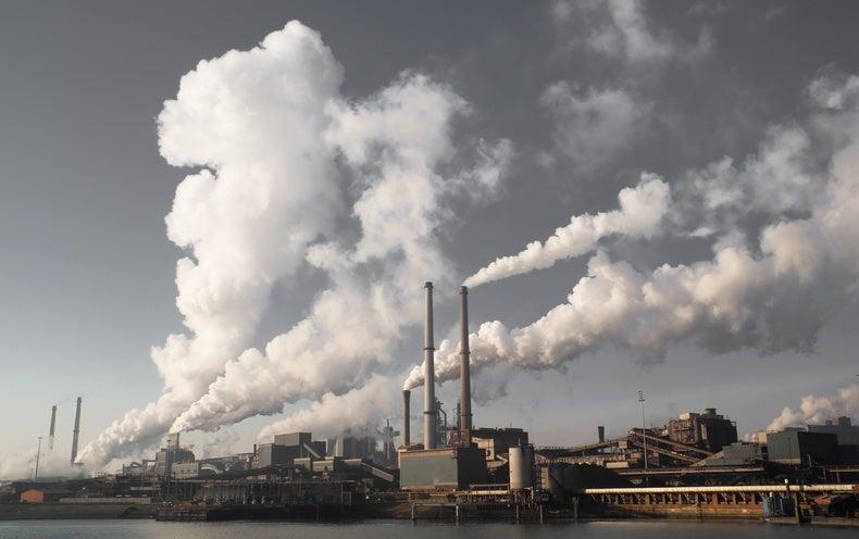 Molecular Trap Locks Away CO2